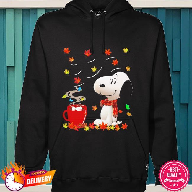 SNoopy drink Coffee Autumn s hoodie