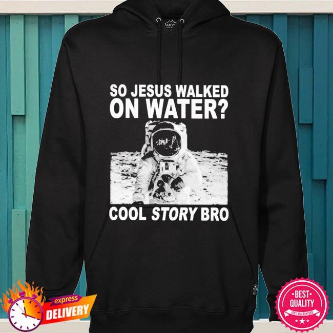 So Jesus walked on water cool story bro s hoodie