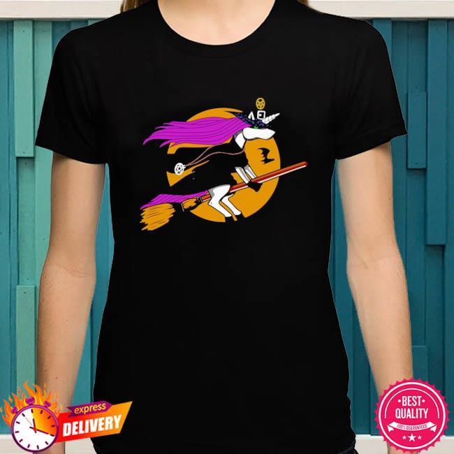 Unicorn Witch Halloween shirt